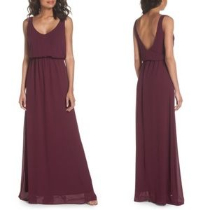 NWT Show Me Your Mumu Kendall Maxi Dress Merlot